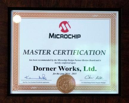 Microchip Master Certification (2014-2015)