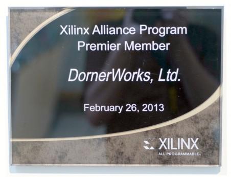 Xilinx Alliance Program Premier Member (2013)