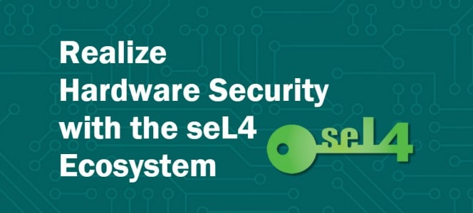 seL4 hardware security0