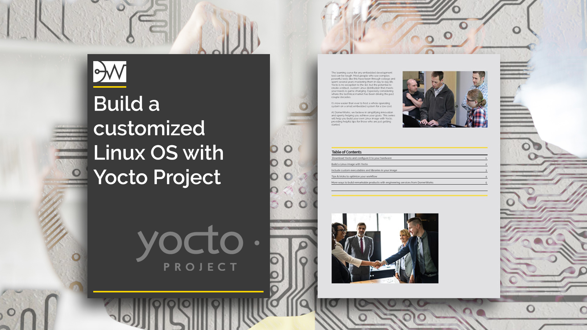 Build a customized Linux OS with Yocto Project