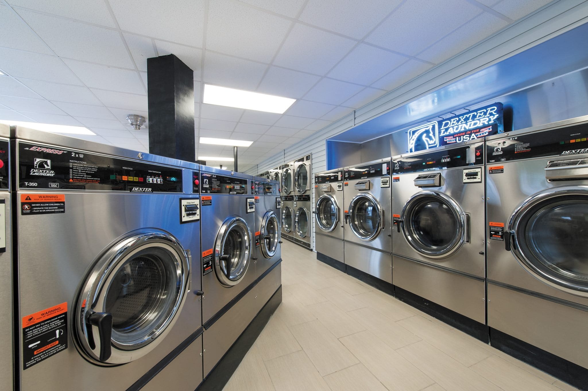 Dexter Laundry differentiated its products from the competition by connecting their machines to the IoT.
