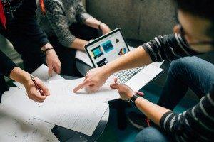 collaboration workers office development technology program project management