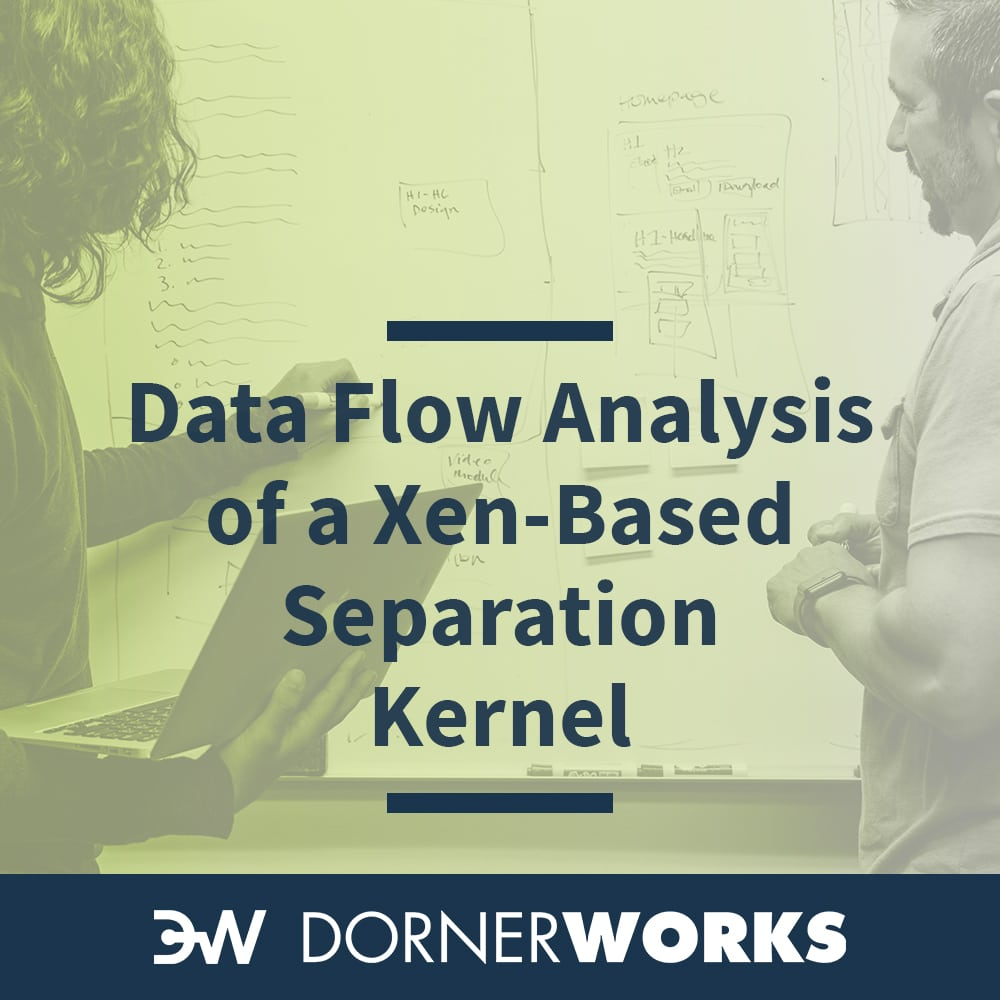 Data Flow Analysis of a Xen-based Separation Kernel